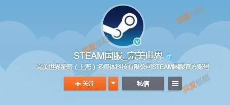Steam国服官方微博名称分享