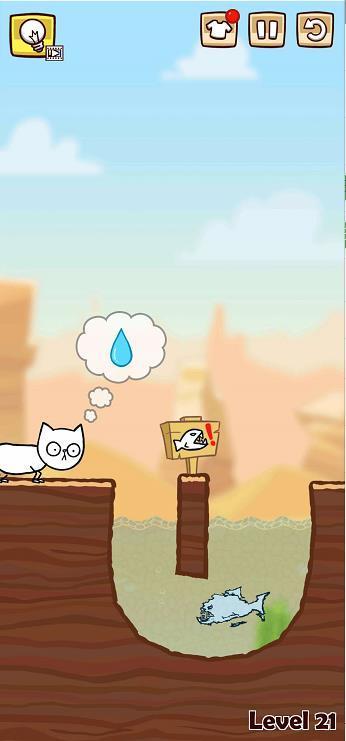 savecat拯救小猫第21-24关通关操作攻略