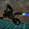 山地摩托赛跑