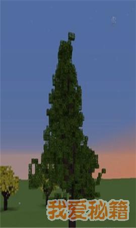 我的世界水杉树怎么做_水杉树制作攻略
