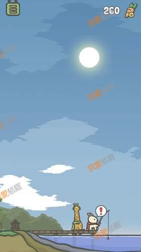 tsuki月兔冒险怎么钓鱼?