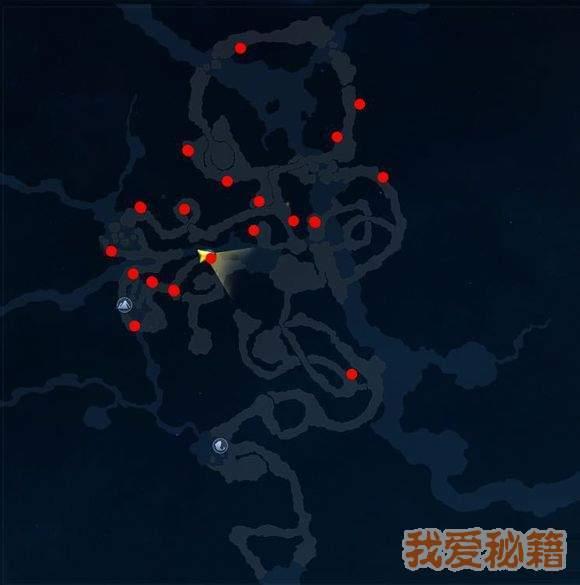 古劍奇譚3罪淵血字位置匯總-20個血字位置一覽