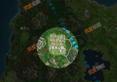 堡壘之夜歡樂公園地圖分析 堡壘之夜歡樂公園寶箱資源分析