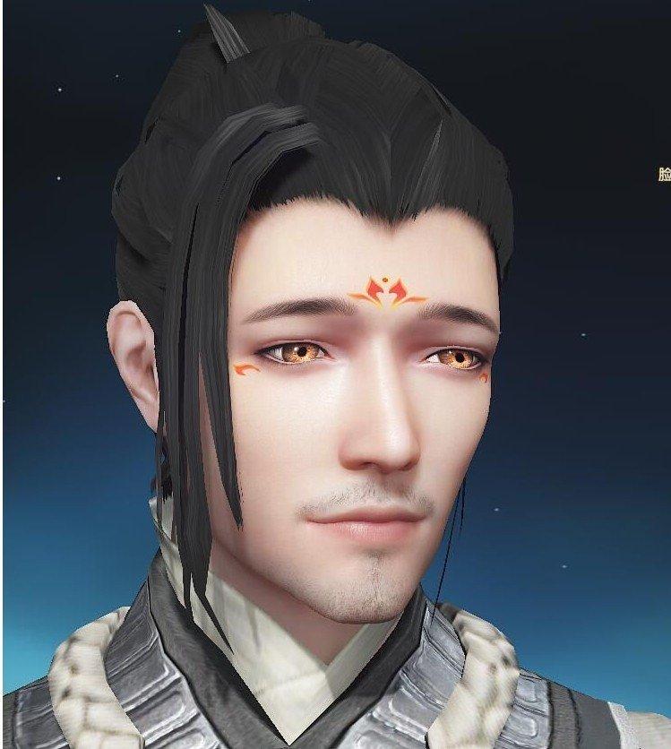 古劍奇譚OL滄桑大叔臉型數據