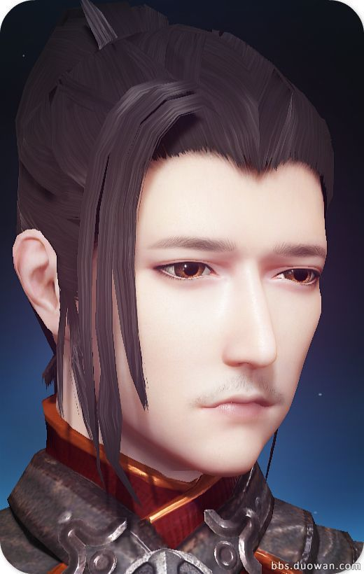 古劍奇譚OL溫柔大叔臉型數據