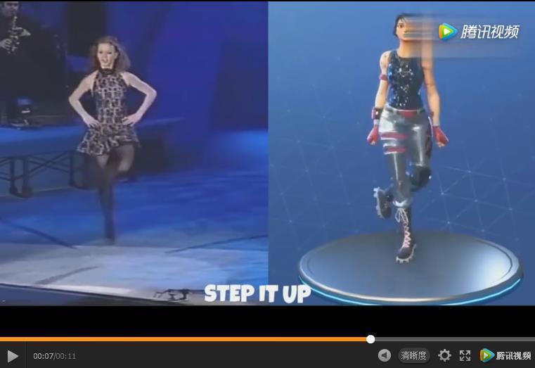 踢踏舞原型视频
