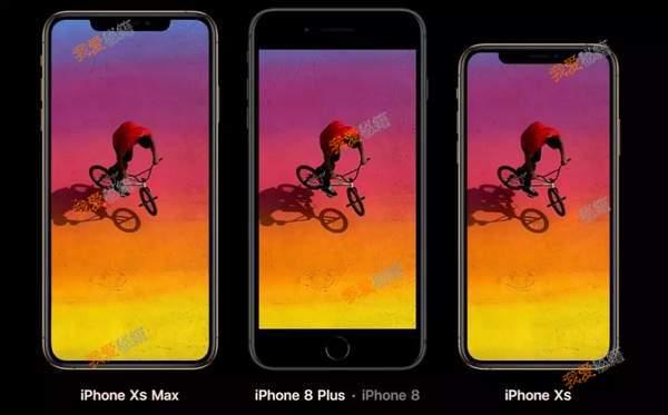 iphoneXS和iphoneXSmax區別對比分析[圖]