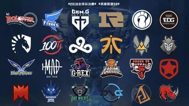 LOLS8全球总决赛24支参赛队伍一览