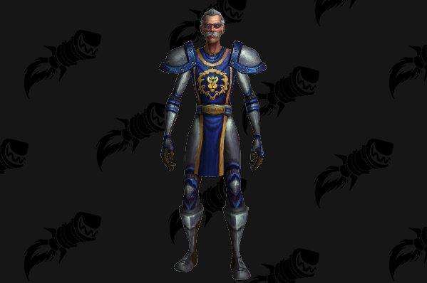 魔兽世界新增NPC斯坦李 身披铠甲巡逻暴风城和奥格瑞玛