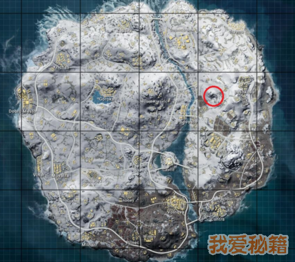 绝地求生雪地地图有空投的洞在哪?怎么进入?