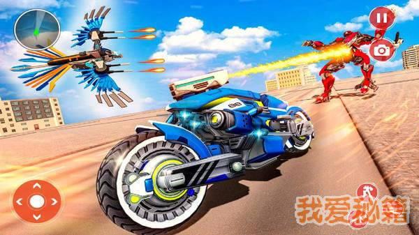 警察飞鹰机器人图2