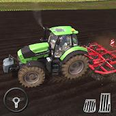 農用拖拉機收獲模擬器