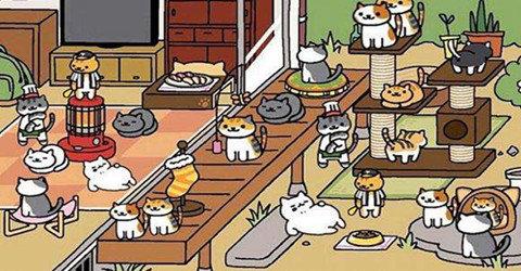 超级治愈的猫咪养成游戏