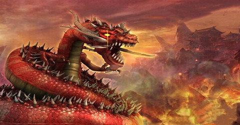龍標志的傳奇游戲