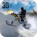 雪地摩托車手