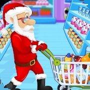圣诞老人超市购物
