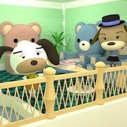 小逃生熊沙發的房間