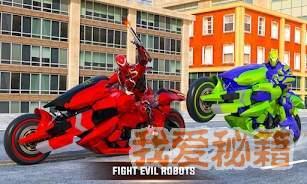 未來摩托機器人變形圖2