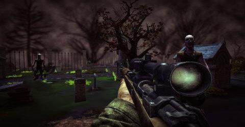 刺激的僵尸射擊類游戲