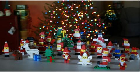 圣誕節有關的互動游戲