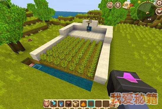 迷你世界自动农田怎么做?自动农田建造教程