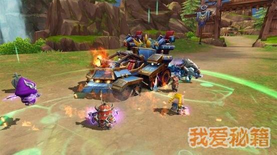 我叫MT4混沌之战护送战车矿车怎么玩-护送矿车玩法介绍