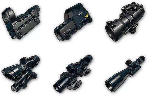 刺激战场:6倍镜和基础镜压枪对比 6倍并不能完全取代基础镜