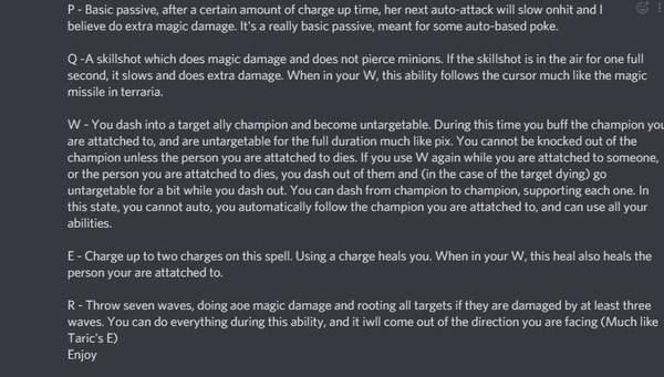 LOL新英雄悠米技能组流出-是辅助英雄不是刺客?