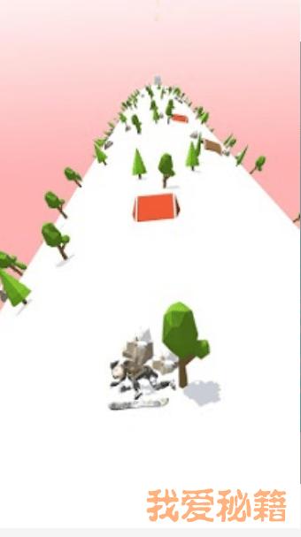 滑雪道跑步图3