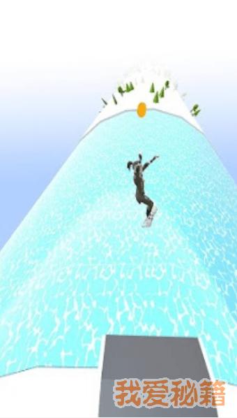 滑雪道跑步图2