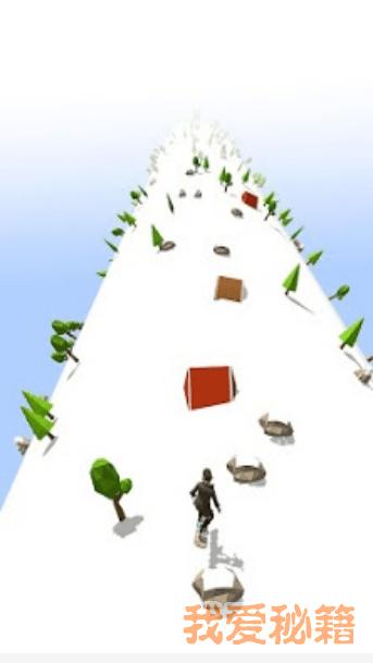 滑雪道跑步图1