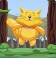 猫咪想上天