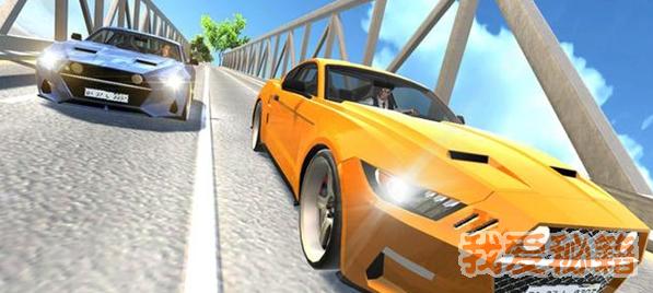 肌肉赛车模拟器图1