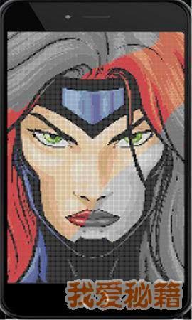 超级英雄填色图1