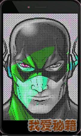 超级英雄填色图2