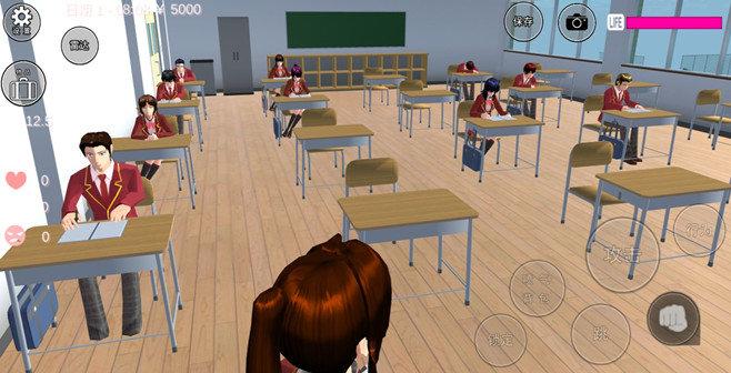 女生校園模擬器中文版游戲大全