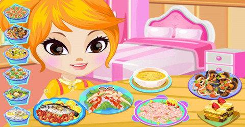 好玩的模擬經營美食類游戲