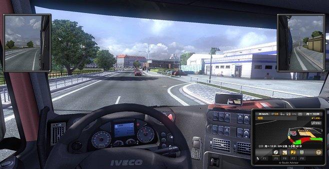 带语音导航的驾驶游戏