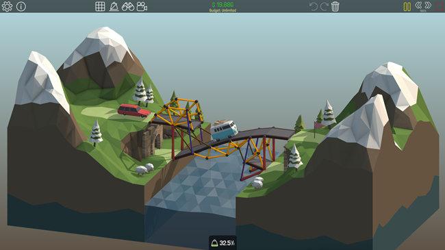 手機上的造橋游戲大全