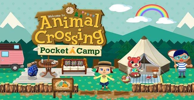 动物之森口袋营地游戏大全