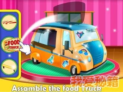 食品卡車廚房廚師圖4