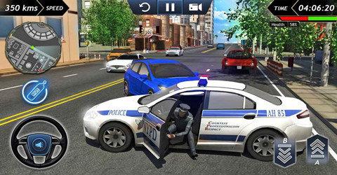 模擬警車駕駛游戲大全