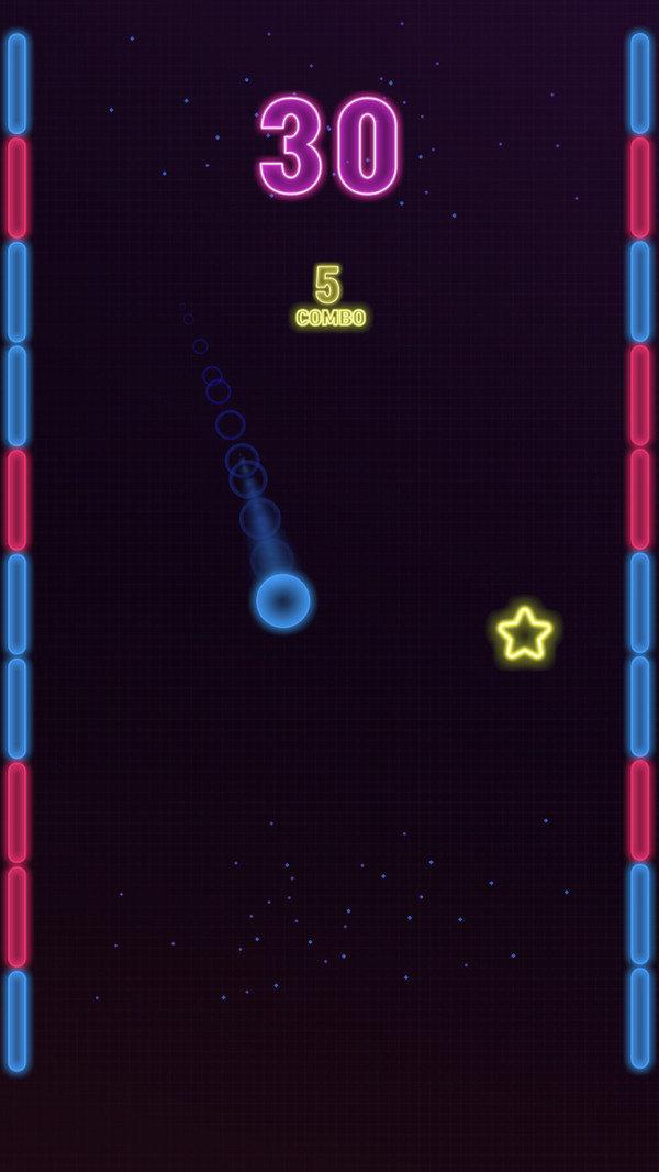 弹跳霓虹球图3