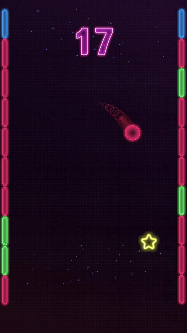 弹跳霓虹球图1