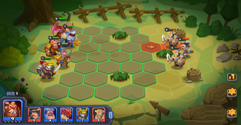 回合制战棋类策略游戏
