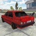 紅色轎車模擬器