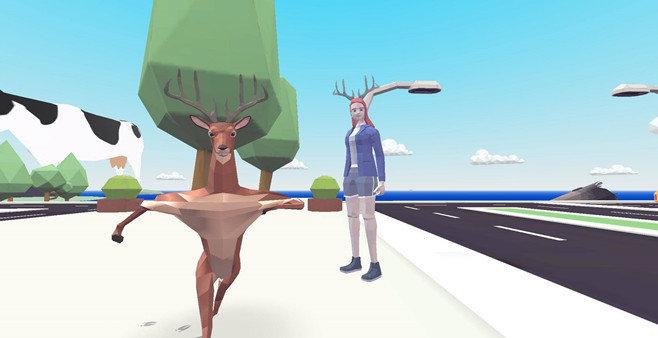 魔性搞笑的鹿模擬器游戲