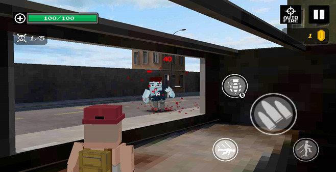 像素风格的僵尸题材游戏
