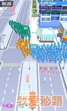 拥挤城市正式版图1