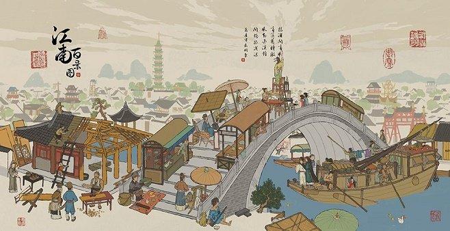 类似江南百景图的游戏大全